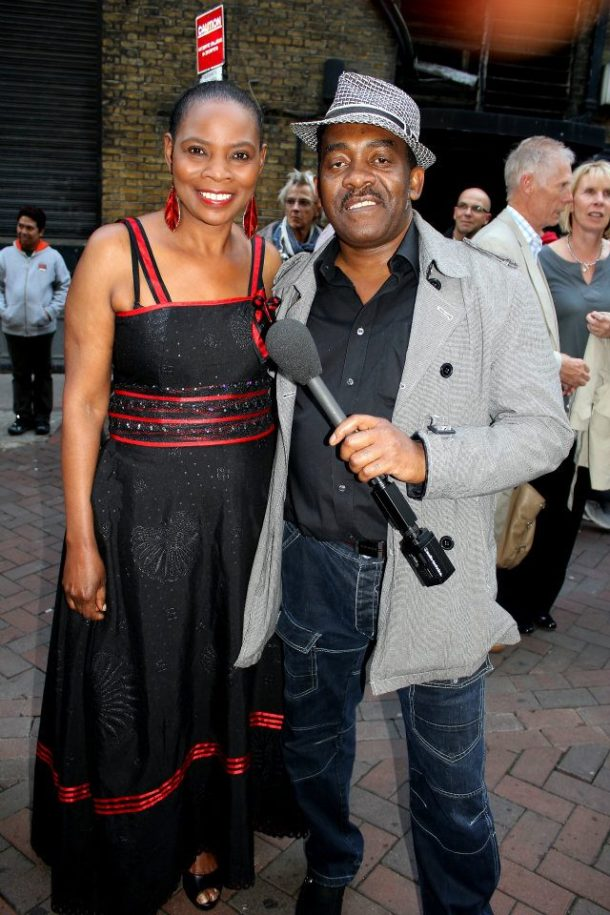 South African Movie Premiere, Leicester Square, London