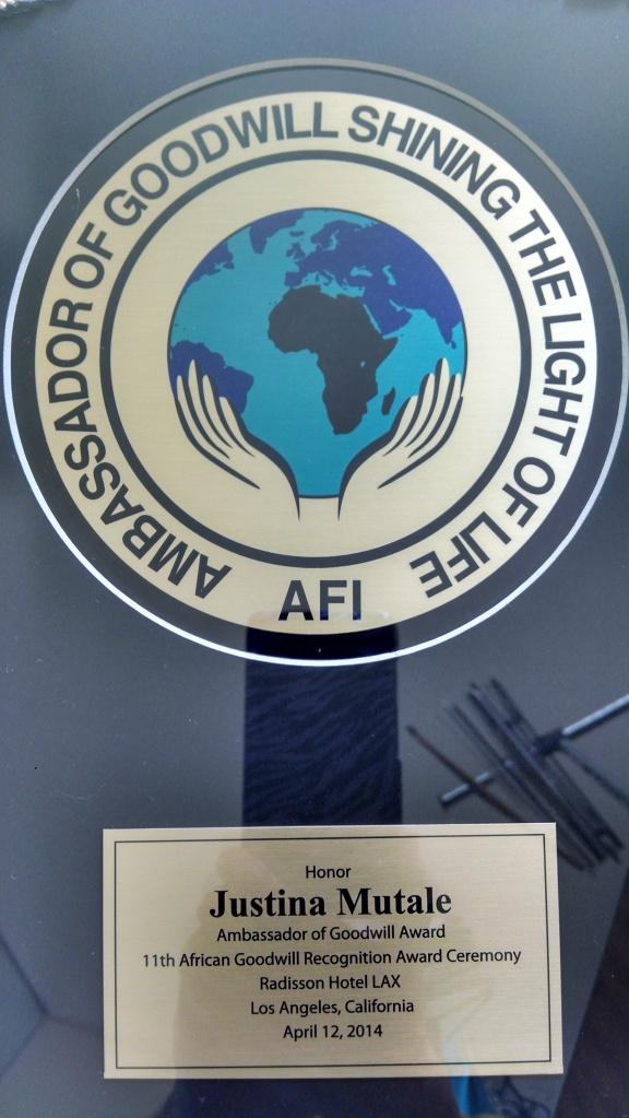 Africa Goodwill Ambassador3