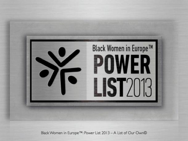 Black Women in Europe PowerList