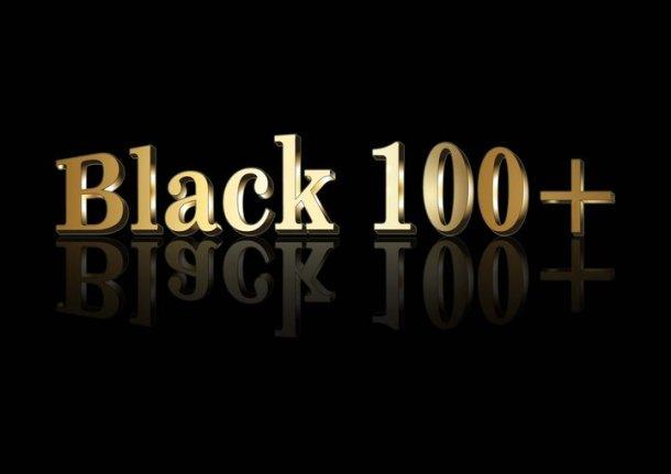Black100+ Logo