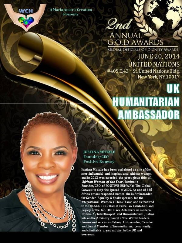 Justina Mutale  - G.O.D. Awards