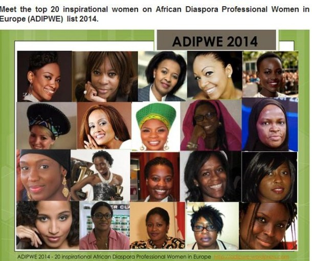 Top 20 African Diaspora Professional Women in Europe