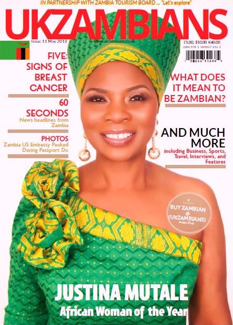UKZAMBIANS Magazine Cover