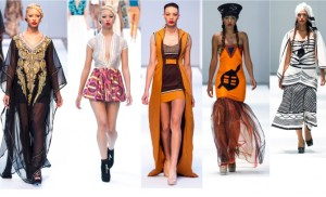 South African Fashion Week models